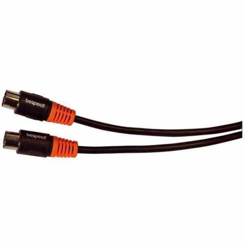 Bespeco, SLMM150, MIDI Cable DIN 5pin male - DIN 5pin male 1.5m