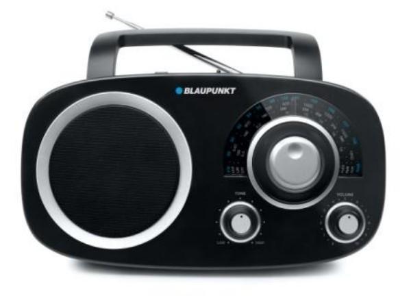 Blaupunkt BSA-8000 / 8001 Φορητό Ραδιόφωνο Αναλογικό Μαύρο - Λευκό