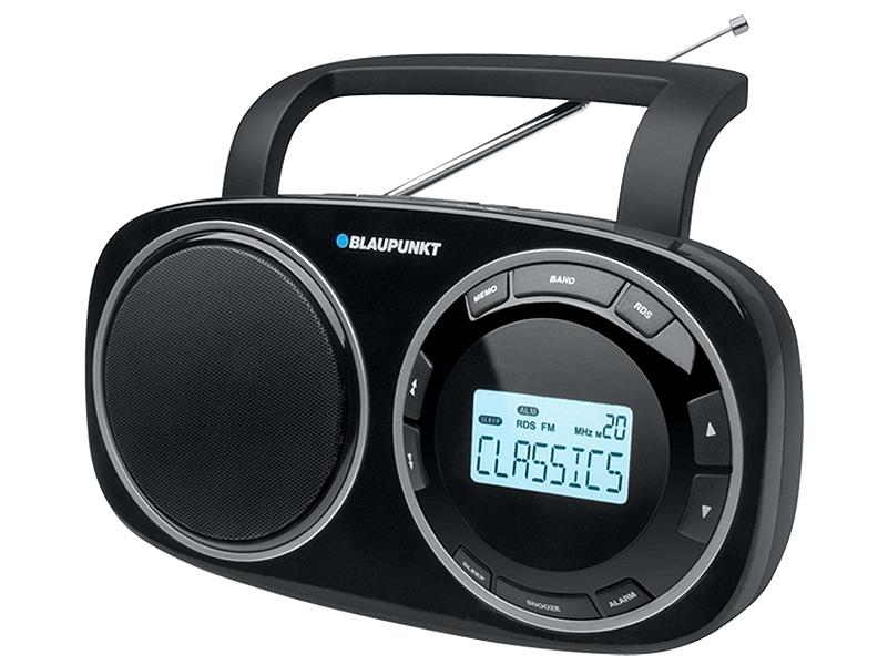 Blaupunkt BSD-9000 / 9001 Φορητό Ραδιόφωνο Ψηφιακό  Μαύρο - Λευκό