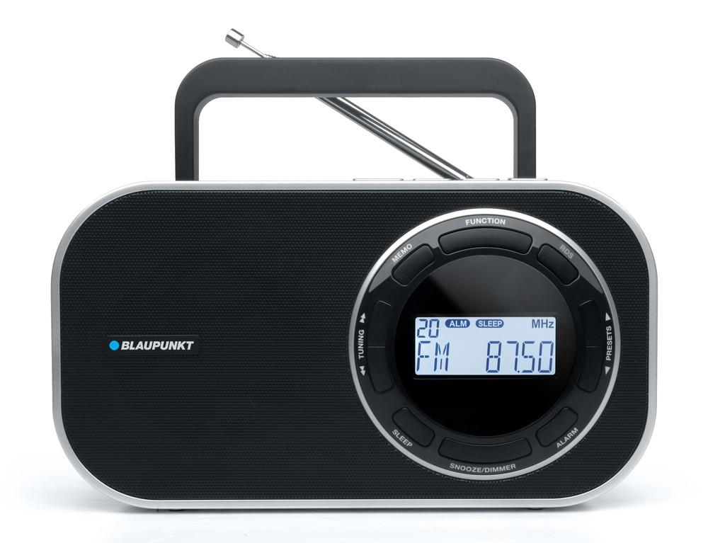 Blaupunkt BTD-7000 / 7001 Φορητό Ραδιόφωνο Ψηφιακό  Μαύρο - Λευκό