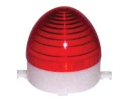 CNTD, C-3072 Φάρος Strobe 230VAC (106X103mm) LTD3072 -Κόκκινο