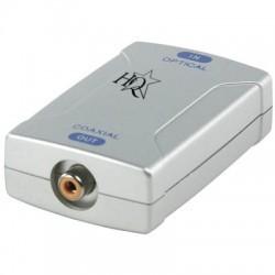 HQ - CONV-OP-COAX Ψηφιακός μετατροπέας ήχου TOSLINK (οπτικό) - RCA (coaxial)
