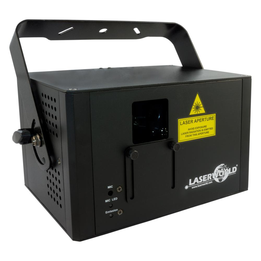 LASERWORLD CS-1000RGB FULL COLOR RGB LASER 1000mW With ILDA