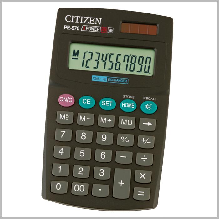 Citizen PE-570 Αριθμομηχανή τσέπης