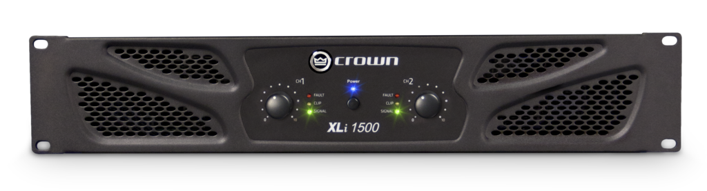 Crown, XLi 1500, Τελικός Ενισχυτής 2x450W