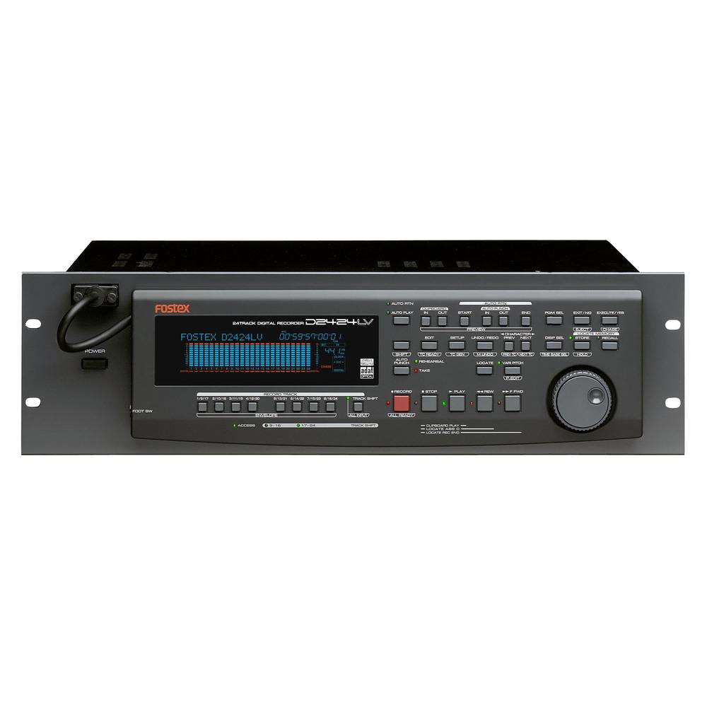 FOSTEX D-2424LV MK2 HARD DISC RECORDING 24CH