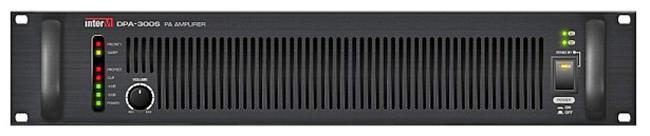 INTER-M DPA-300S ΤΕΛΙΚΟΣ ΕΝΙΣΧΥΤΗΣ 1Χ300W/100V PRIORITY IN