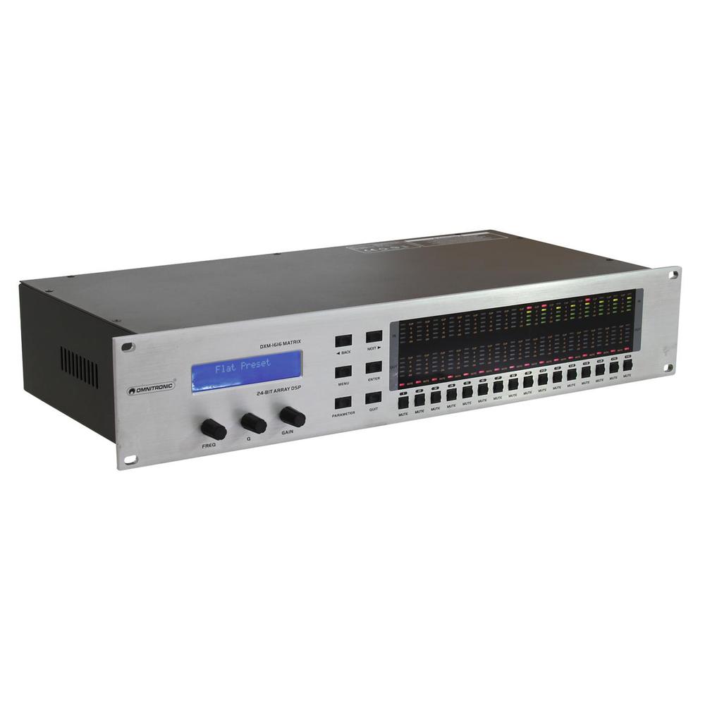 OMNITRONIC DXM-1616 MATRIX DIGITAL MATRIX CONTROLLER