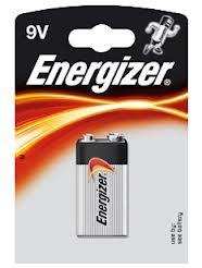 Μπαταρία Αλκαλική Energizer 9V