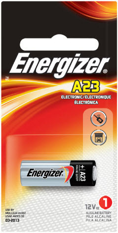 Energizer, A23/E23A, Αλκαλική 12V