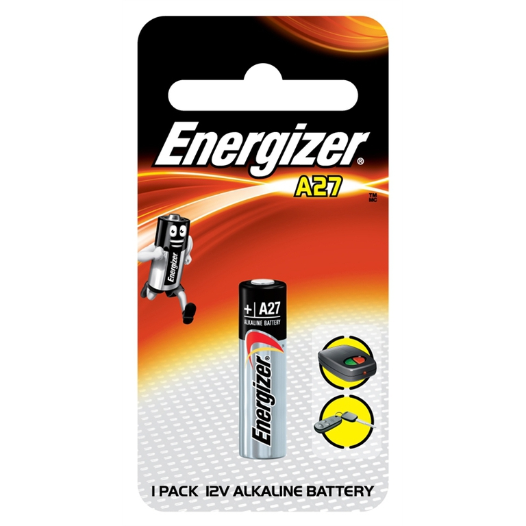 Energizer, A27, Μπαταρία Αλκαλική 12V