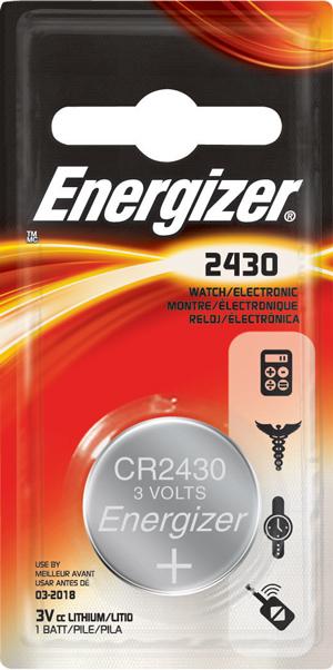 Energizer, CR2450, Μπαταρία λιθίου 3V