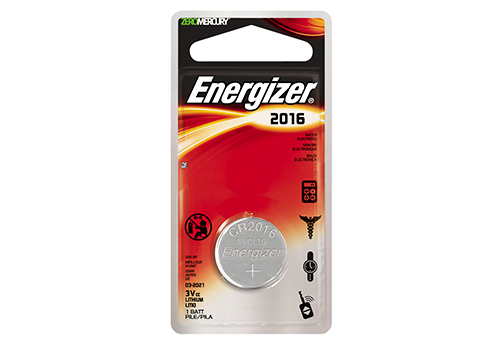 Energizer, CR2016, Μπαταρία λιθίου 3V
