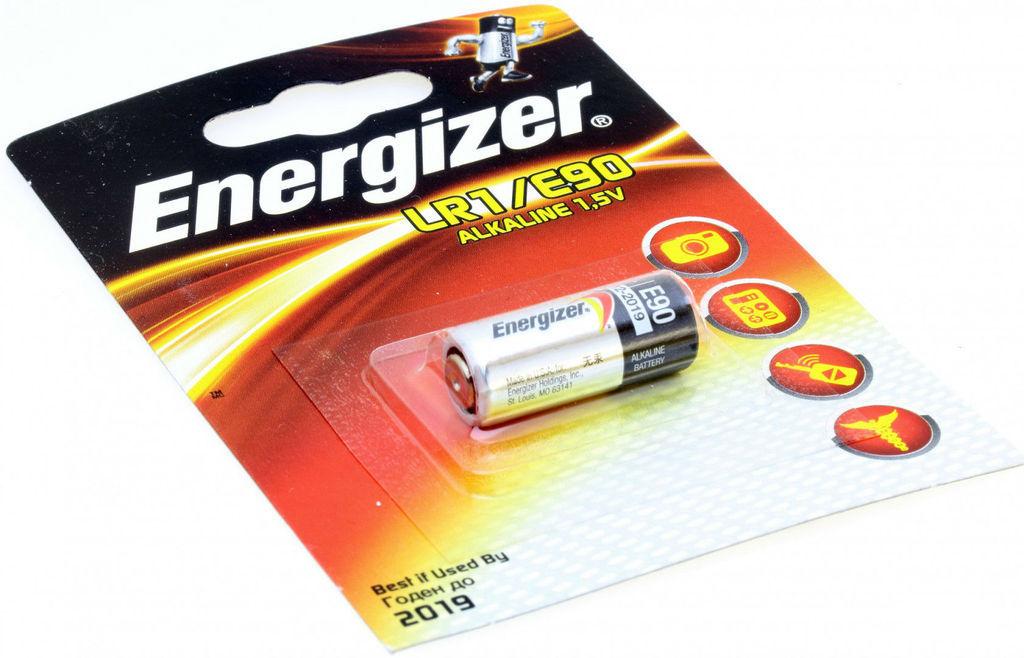 Energizer, LR1/E90, Μπαταρία Αλκαλική 1,5V. - 1 Τεμ.