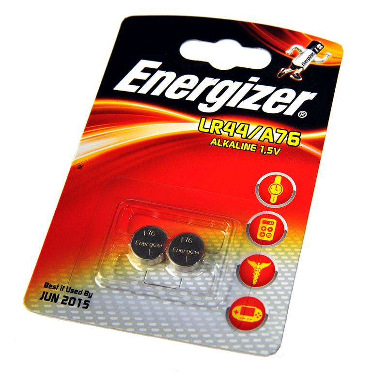 Energizer, LR44/A76, Μπαταρία αλκαλική 1,5V. - 1 τεμ.