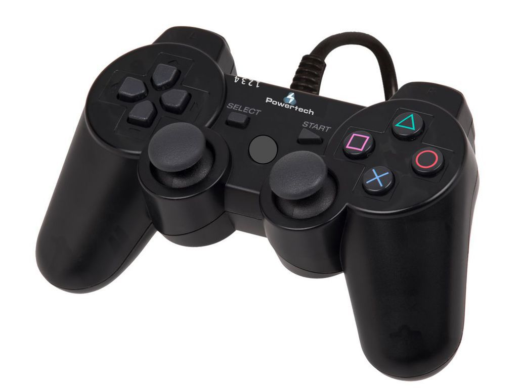 Powertech, PT-170, Χειριστήριο Game Pad 3in1 PC, PS2, PS3