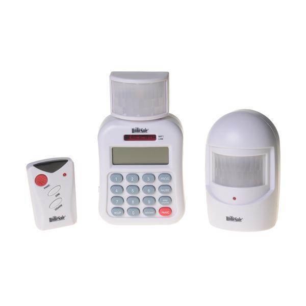HomeSafe, T016RPK5, Σετ ασύρματου συναγερμού με τηλεφωνική ειδοποίηση, σειρήνα και κουμπί πανικού