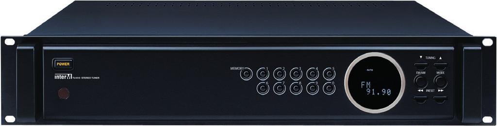 Inter M, TU-610, Επαγγελματικός Ραδιοφωνικός Δέκτης Tuner & Stereo για AM/FM