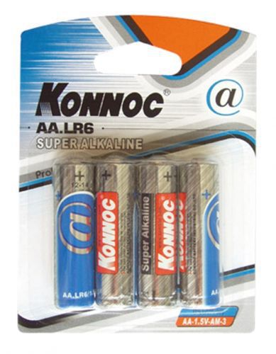Konnoc, AA-1.5V-AM-3, Μπαταρία Αλκαλική