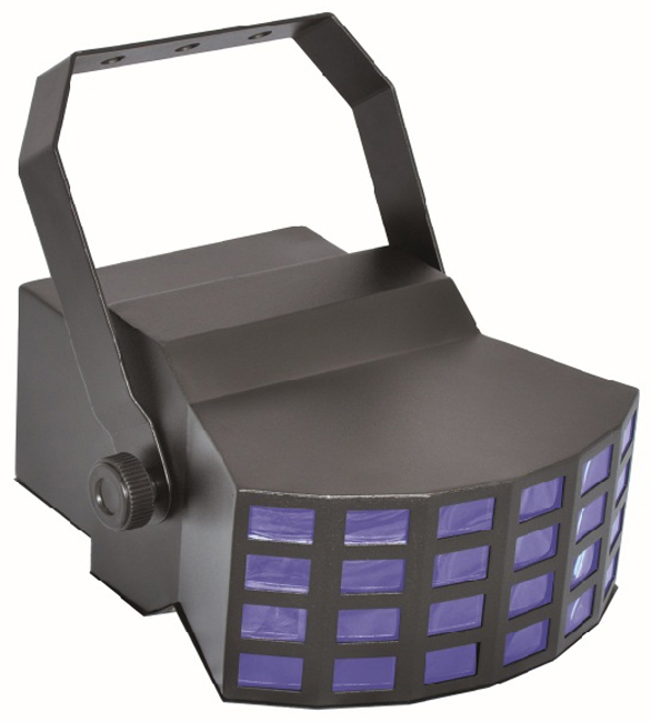 EUROLITE LED D-400 ΦΩΤΙΣΤΙΚΟ LED ΕΦΕ 24 ΑΚΤΙΝΩΝ RGBAW 5X3W