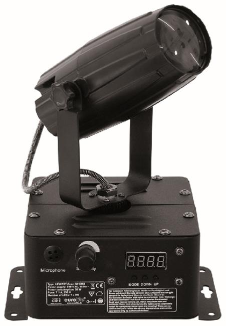 EUROLITE LED PST-SCAN 3W LED ΦΩΤΙΣΤΙΚΟ ΚΙΝΗΤΗΣ ΡΑΝ ΔΕΣΜΗΣ 3W