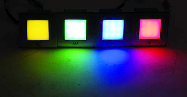 LED REC.MILKY 9 GRN EUROLITE DECORATIVE 9-LED LIGHT ΠΡΑΣΙΝΟ