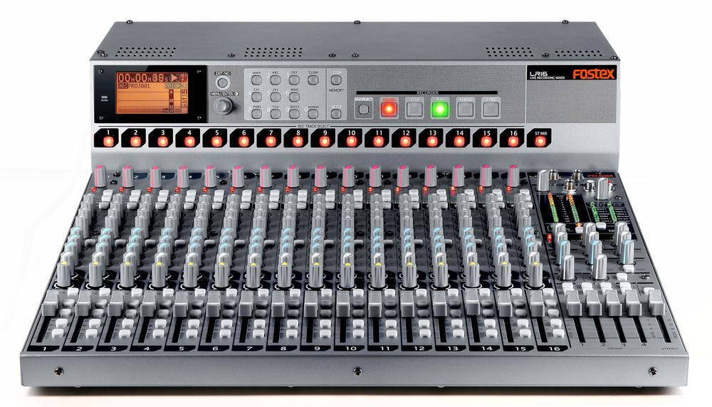 FOSTEX LR-16 LIVE RECORDING MIXER