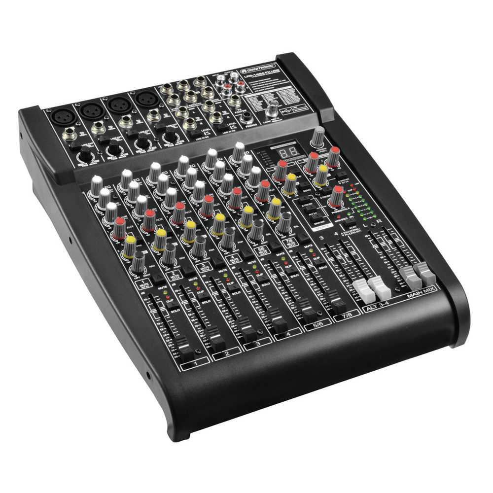 OMNITRONIC LRS-1424FX ΚΟΝΣΟΛΑ ΜΙΞΗΣ ΜΕ DIGITAL EFFECTS AND USB