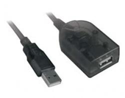 Lancom,C-170-AMF-ACTIVE, Καλώδιο USB 2.0 AM/AF προέκταση με ενισχητή 5m