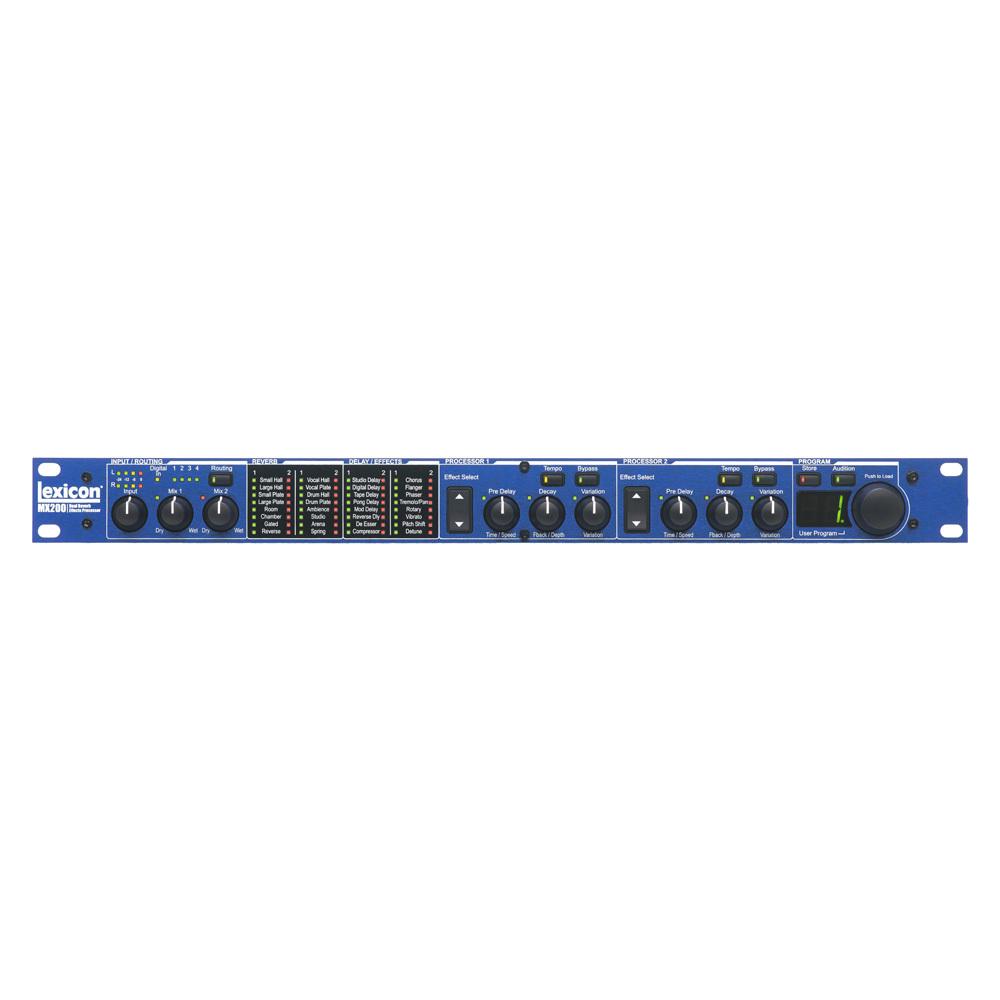 LEXICON MX-200 MULTI-EFFECT PROCESSOR WITH S/W