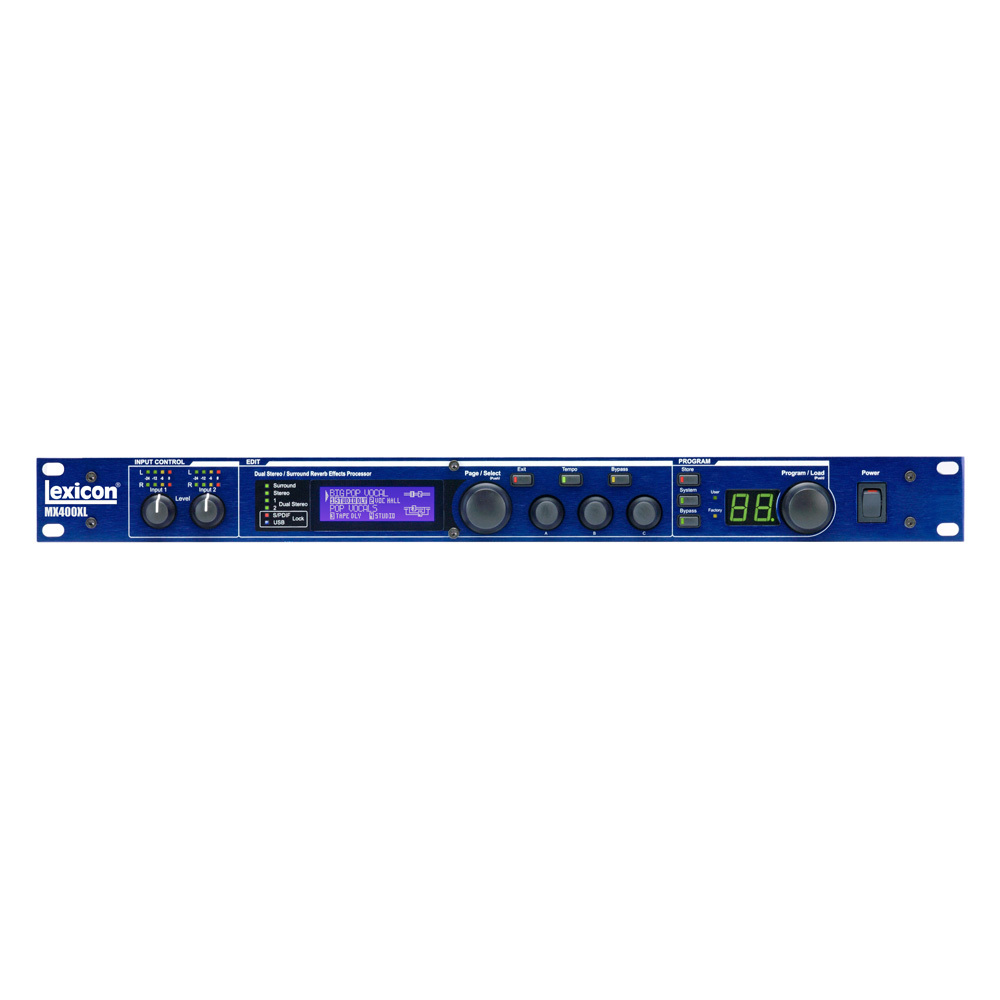 LEXICON MX-400XL MULTI-EFFECT PROCESSOR 4CH S/W XLR
