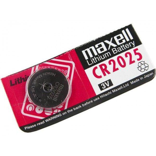 Maxell, CR2025, Μπαταρία λιθίου 3V