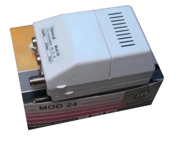 Mistral, MOD-L 0262, Διαμορφωτής Εικόνας & Ήχου Modulator VHF I (2-4)