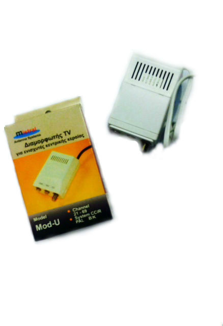Mistral, MOD-U 0265, Διαμορφωτής (Modulator) Εικόνας και Ήχου μπάντας UHF