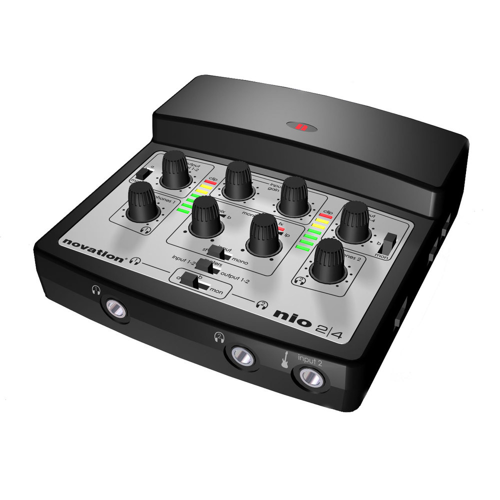 NOVATION NIO 2/4 2IN-4OUT USB1.1 INTERFACE WITH DIRECT FX