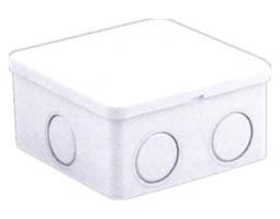 Gainta, CP1238, Κουτί Διακλάδωσης, 80Χ80Χ40, πλαστικό Κουμπωτό αδιάβροχα IP44 Γκρι