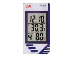 OEM KT-906 Ψηφ. θερμόμετρο & υγρόμετρο με ημ/γιο & Ξυπνητήρι