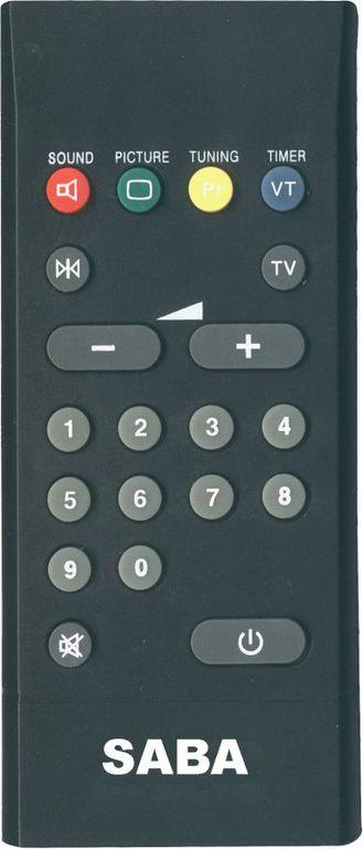 OEM, 0047, Τηλεχειριστήριο συμβατό με SABA-TELEFUNKEN TV-RC1123