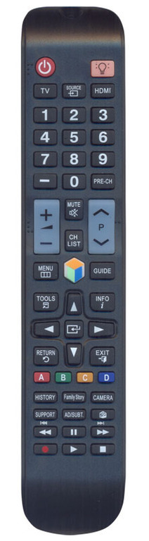 OEM, 0125, Τηλεχειριστήριο συμβατό με SAMSUNG Smart TV