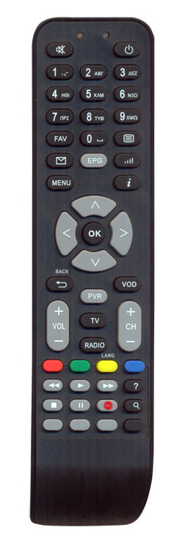 OEM, 0128, Τηλεχειριστήριο συμβατό με δορυφορικό KAONMEDIA για ΟΤΕ TV