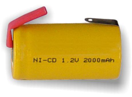 OEM, 0178, Ni-Cd 1.2V 2000mA, Επαναφορτιζόμενη Mπαταρία με λαμάκια, για σκουπάκια