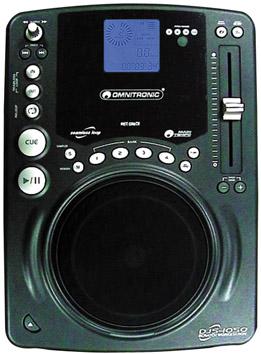 OMNITRONIC DJS-1050 ΜΟΝΟ CD PLAYER ME FLIP DISC