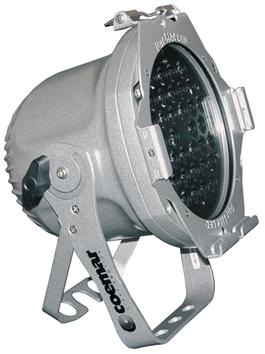 COEMAR PARLITE LED SILVER PAR LED RGB 36LEDSx1W SILVER