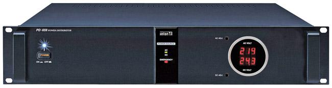 INTER-M PD-659 POWER DISTRIBUTION
