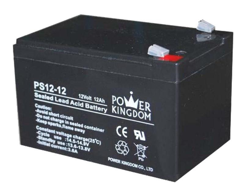Power Kingdom, PS12-12, Μπατ. μολύβδου 12V 12A