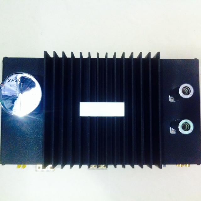 Poweramper XP200T.2 Ενισχυτής 2 καναλιών 2x100W RMS με Λυχνίες