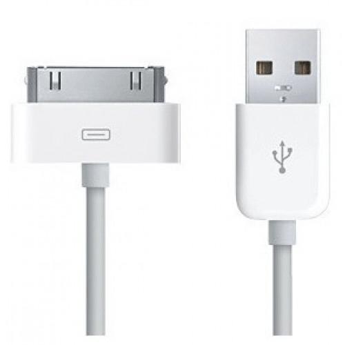 Powertech, CAB-U024, Καλώδιο φόρτισης iPhone 3G/3GS/4/4s, 1m