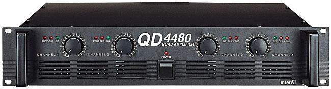 INTER-M QD-4480 ΤΕΛΙΚΟΣ ΕΝΙΣΧΥΤΗΣ 4X120W/4Ω