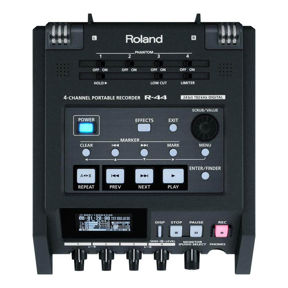 ROLAND R-44 4-CH SD PORTABLE RECORDER