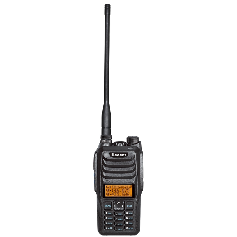 Recent, RS-589, Dual Band VHF/UHF ισχύος 10W, μπαταρίας 2600mA και φακό